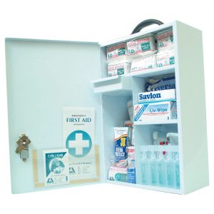 Farmer First Aid Kit, Complete Set In Metal Case
