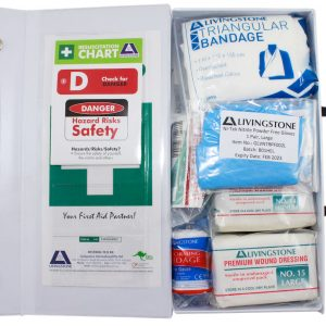 General Purpose First Aid Kit, Small, Complete Set In PVC Case