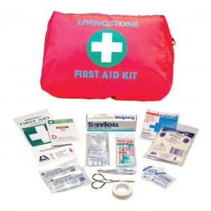 Personal First Aid Kit, Complete Set In Nylon Pouch