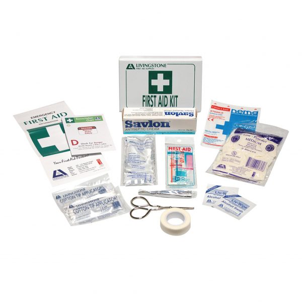 Personal First Aid Kit, Complete Set In PVC Case