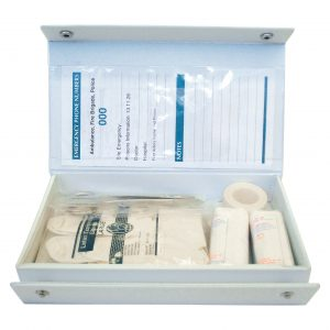 Pet Basic First Aid Kit, Complete Set In PVC Case