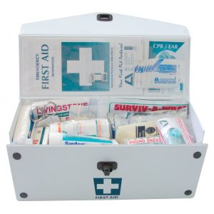 Sports First Aid Kit, Small, Complete Set In PVC Case