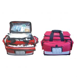 High Risk First Aid Kit, Complete Set In Portable Bag