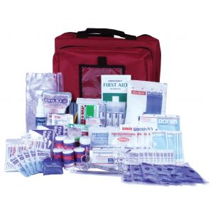 Standard Workplace First Aid Kit in portable bag