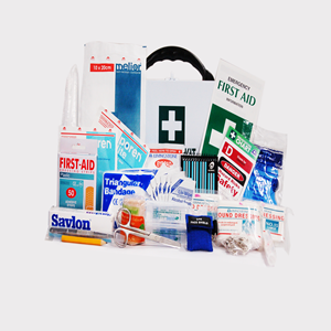 Victoria Micro First Aid Kit, Complete Set In Wall Mountable Metal Case
