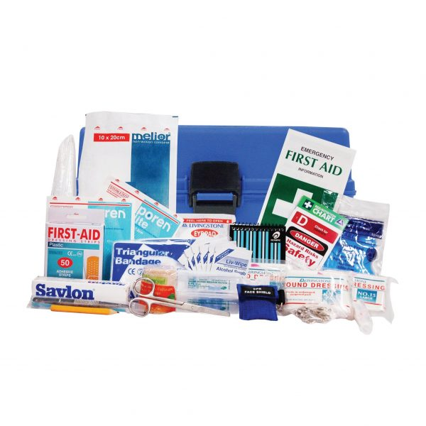 Victoria Micro First Aid Kit, Complete Set In Plastic Case