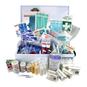 Western Australia High Risk First Aid Kit, Complete Set In Metal Case