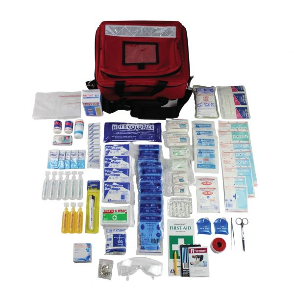 Western Australia High Risk First Aid Kit, With Additional Modules, Complete Set In Portable Bag