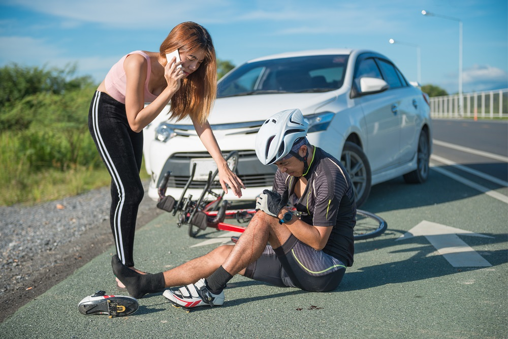Car accident what to do if you're first on the scene